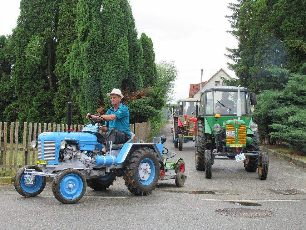 V sobotu 22. června se konal 5. ročník traktoriády v Sedlečku.