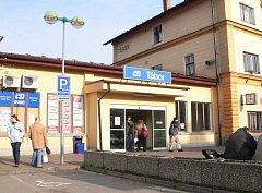 Ilustrační foto: Táborské vlakové nádraží.