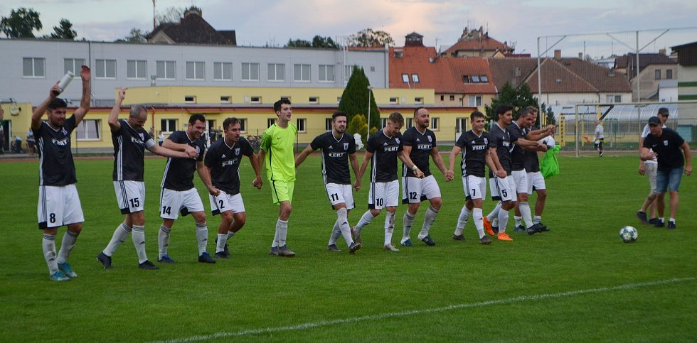 Soběslav versus Lom 2:0.