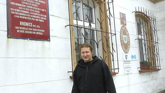 Mladý zastupotel Jan Šobra se snaží o tom, aby měla Jistebnice zpět titul města.