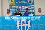 Setkání s fanoušky a médii FC MAS Táborsko.