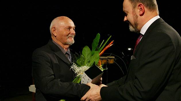 Oceněný František Stropek.