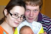 STELA FLACHSOVÁ Z LIBENIC. Narodila se 7. února v 19  hodin jako první dítě rodičů Marie a Michaela. Vážila 3690 g a měřila 52 cm.