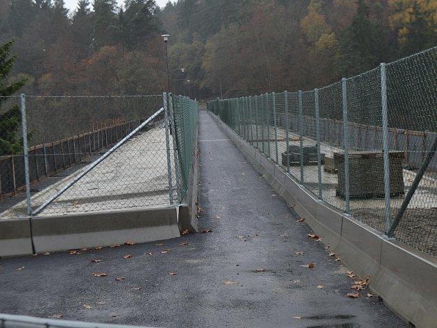 Švehlův most se otevře chodcům.