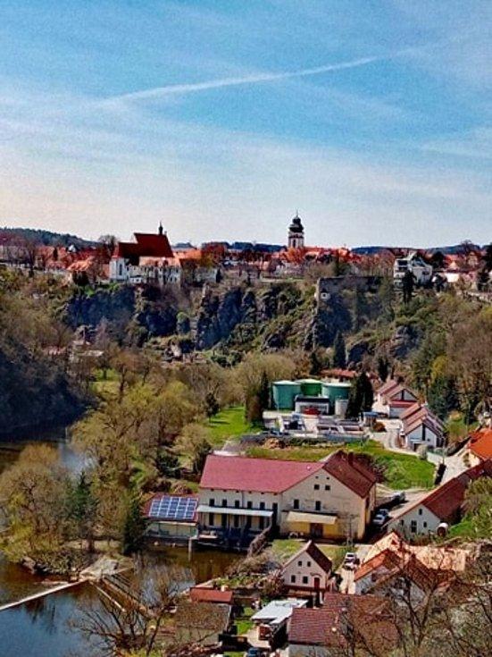 Fotografie z výletu do Bechyně zaslala Kristýna Svobodová