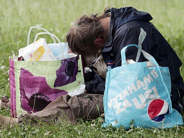 Člověk bez domova. Ilustrační foto