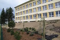 Botanická zahrada u soběslavského gymnázia