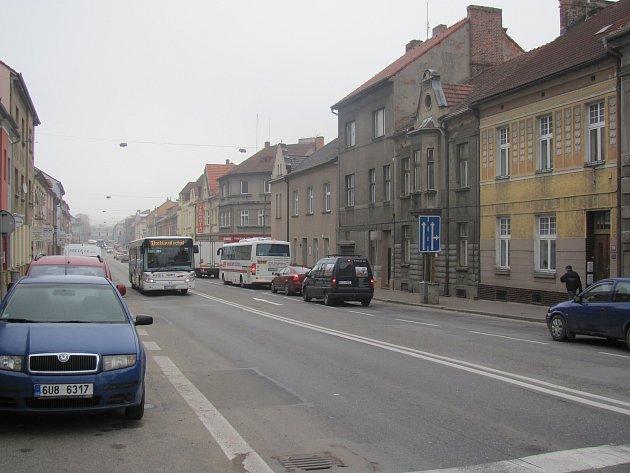 Budějovická ulice se chystá za změny.