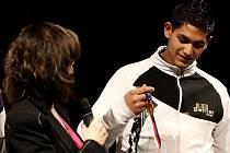 Jedním z držitelů titulu Talent roku 2010 se stal Alexandr Kováč z Tábora. Na předávání cen přinesl ukázat medaile z mistrovství republiky v ping–pongu.