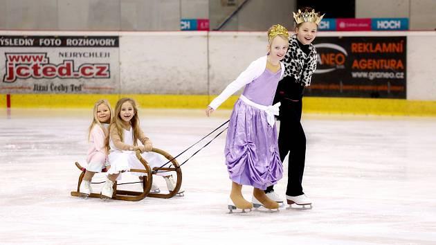 Ledové království na zimním stadionu v Táboře.