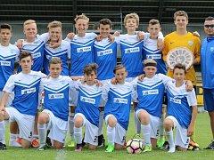 Tým FC MAS Táborsko U15.