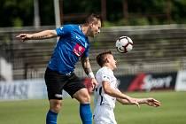Fotbalisté Táborska vybojovali bod s favorizovaným Hradcem Králové.