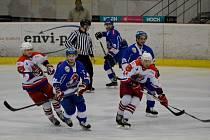Pondělní utkání HC Tábor - BK Havlíčkův Brod.
