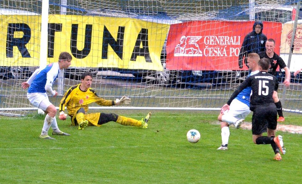 Čtvrteční příprava u Jordánu: Táborsko versus Slavia Praha B 3:2.