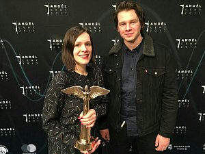 Duo Kalle získalo Anděla v kategorii alternativní hudba.
