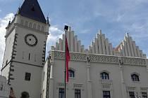 Fasáda radnice se už vyloupla do krásy, opravy se ale týkaly i interiérů. Ty veřejnost může vidět během Táborských setkání v září.
