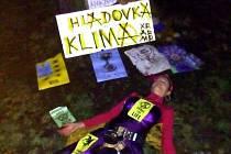 Soběslavská aktivistka se připojila k celostátní hladovce za klimatickou krizi.