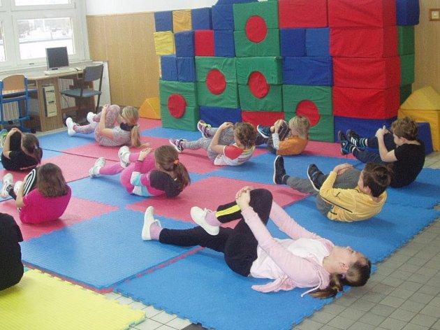 Děti si užily radost z pohybu.