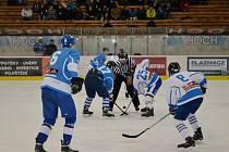 Hokejový zápas ZŠ Zborovská Tábor versus SPŠ Tábor.