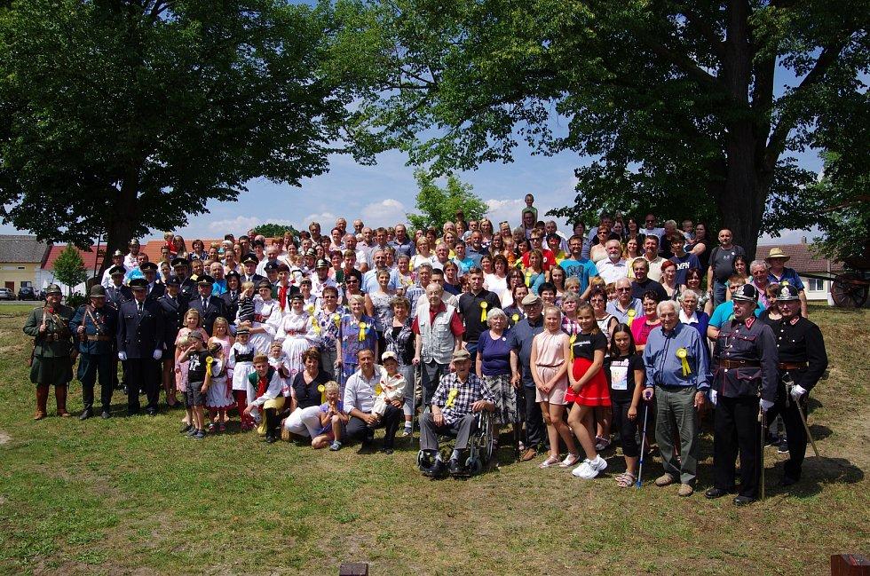 Rodáci a přátelé obce se setkali v sobotu 20. července při bohatém programu.