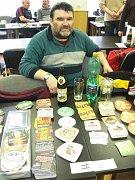 Až z Liptovského Mikuláše na Slovensku se přijel zúčastnit setkání sběratel pivního skla Luboš Piroh.