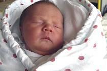 LUCIE DUŠKOVÁ z TÁBORA. Přišla na svět 27. července v 8.55 hodin. Vážila 3020 g a měřila 48 cm. Těší se na ni táta Petr a bratr Martin (3).