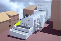 Veřejná prezentace přestavby táborské knihovny se konala letos v zimě