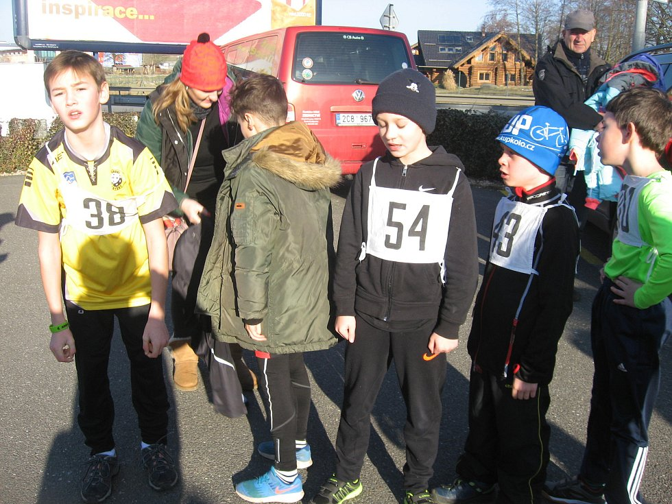 V Chyškách se urodila zdárná běžecká reprezentace mladé krve. Na Táborsku sklízí samé drahé kovy.