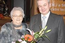 Cenu města Veselí nad Lužnicí za rok 2008 obdržela Lidmila Lavičková.