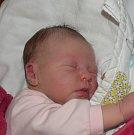 Kristýna Kašparová z Klokot. Narodila se 24. června ve 23.26 hodin jako druhá dcera v rodině. Vážila 3630 gramů, měřila 48 cma sestřičce Emě jsou tři roky.