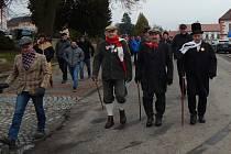 20. ročník pochodu Tři veteráni v Jistebnici.