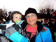 Milan Křemen se svým dvouletým synem si tuto akci také nenechal ujít.