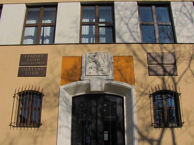 Krajský soud v Táboře.
