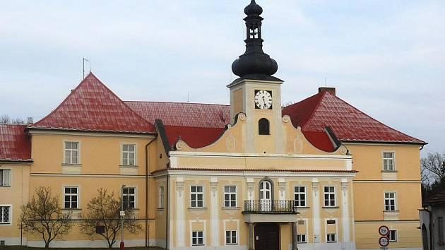 Stádlecký zámek.