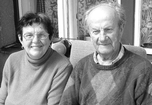 František a Marie Podlahovi jsou oba nedvědičtí rodáci.