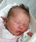 Nikola Štokingerová z Tábora. Na svět poprvé pohlédla 21. června ve 4.21 hodin.  Prvorozená dcera  maminky Jany po porodu vážila 2840 gramů.