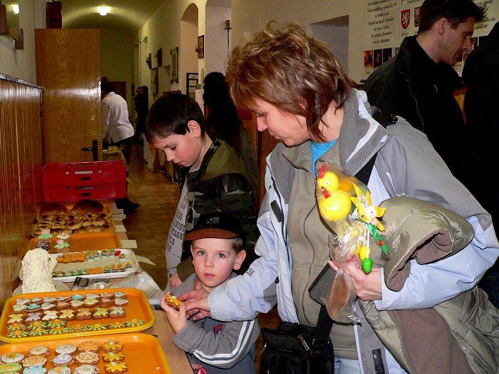 Velikonoční výstava v Borotíně.