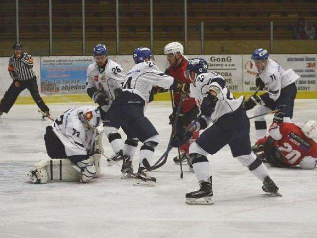 Z utkání Klatovy versus Tábor 0:2.