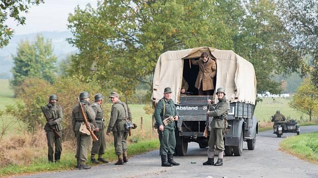 Na Jistebnicku se proháněli odbojáři.