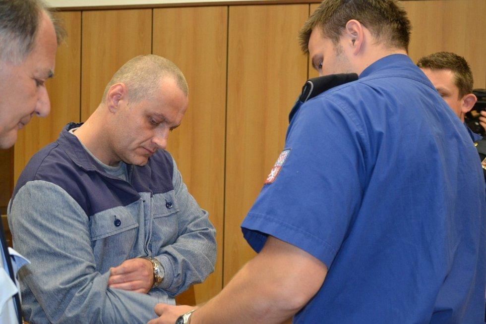 Pavel Záruba u táborského soudu.