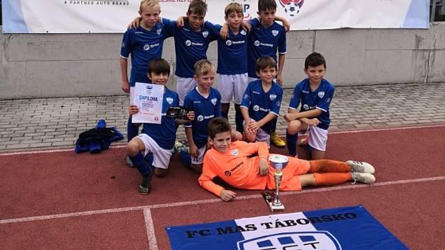 Úspěšné týmy nadějí FC MAS Táborsko.