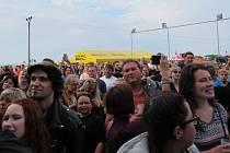 Jubilejní 15. ročník želečského letního festivalu přilákal opět mnoho návštěvníků.
