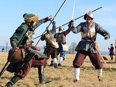 Jankov - Na louce u Jankova na Voticku se v sobotu odehrála rekonstrukce jedné z největších bitev třicetileté války.