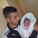 Alžběta Květoslava Bílá z Bechyně. Narodila se jako třetí dítěv rodině 26. června v 6.14 hodin. Vážila 4030 gramů, měřila 50 cma už má brášky Martina (8) a Petra (2).