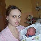 Michal Morávek z Tábora. Přišel na svět jako druhý syn v rodině 15. března v 10.45 hodin. Po narození vážil 2690 gramů,měřil 46 cm a bráškovi Matyášovi je dva a půl roku.