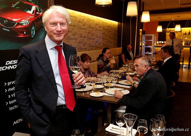 Ladislav Špaček v hotelu Palcát