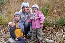 Pro focení si Karolína Berková vybrala botanickou zahradu, která je častým cílem jejích vycházek s dětmi.