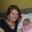 Nela Špačková z Horního Borku. Na svět poprvé pohlédla 16. ledna v 7.35 hodin. Po narození vážila 3440 gramů, měřila 49 cm  a už má tříletou sestřičku Michaelku.