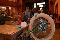 V kulturním domě se ve čtvrtek konal 23. ročník floristické soutěže Soběslavská růže.