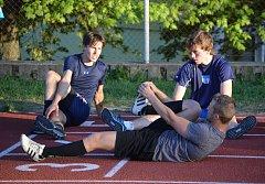 První trénink A-týmu HC Tábor.